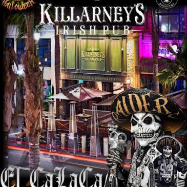 Killarney's Bye Week Raider Halloween Game Day Party! October 31st